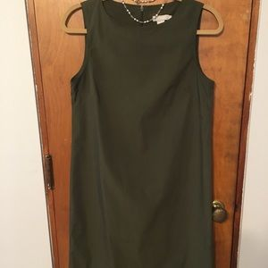J. Crew Dresses - J. Crew Olive Green Dress